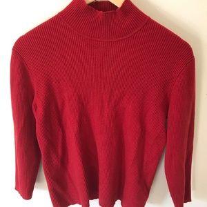 Ralph Lauren red sweater size YL- gently worn